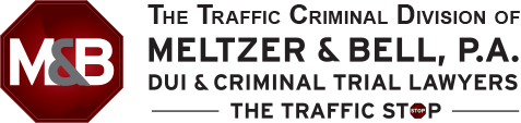 The Traffic Defense Division of Meltzer & Bell, P.A. - DUI & Criminal Trial Lawyers - The Traffic Stop