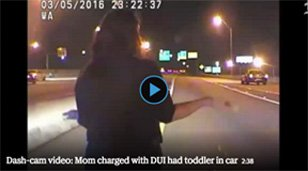 Caught on video: Mom charged with DUI in Broward had toddler in car.